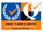 Certificado ISO 14001: 2004